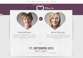 marriage invitation websites 10 best premium wedding website templates