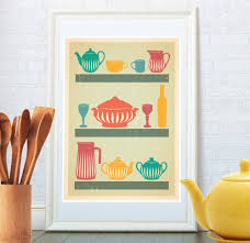 retro kitchen art ideas retro kitchen ideas for unique kitchen