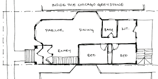chicago bungalow floor plans chicago building types the greystone moss architecture