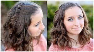 hairstyles for short hair cute girl hairstyles triple knot accents short hairstyles cute girls hairstyles
