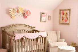 soft pink gold and ivory shabby chic nursery project nursery