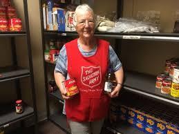 Salvation Army Volunteer Thanksgiving Help Salvation Army U0027fill The Shelves U0027 Tomorrow Clinton News Record