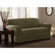 Best Slipcover Sofa by Amazon Com Maytex Reeves Stretch 2 Piece Sofa Slipcover Sage