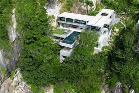 mountainside home plans majestic villa overlooking the