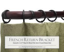 Return Rod Curtains Heavy Duty Curtain Trend Rods