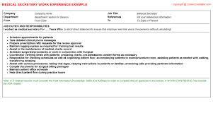 secretary job duties resume 10 best resume images on pinterest