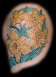 yellow aster flower tattoos design tattoomagz