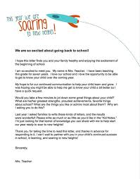 Letter To Parents Template From Teachers teachers letter to parents search free stuff 4 educators