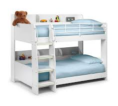 Mid Sleeper Bunk Bed Julian Bowen Domino White Bunk Bed