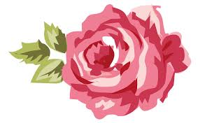shabby chic pink gray rose 01 png minus clip art library