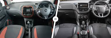 renault captur 2018 interior renault captur vs peugeot 2008 comparison carwow