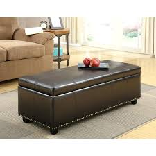 blue storage ottoman coffee table ottoman combo extra large
