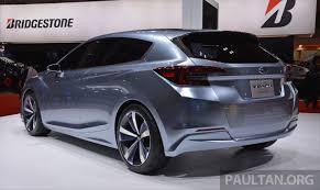 subaru concept 2017 tokyo 2015 subaru impreza 5 door concept debuts image 398055