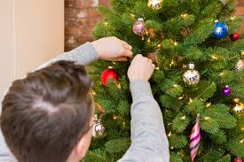 Decorated Christmas Tree Buy Online by The Best Artificial Christmas Tree The Sweethome