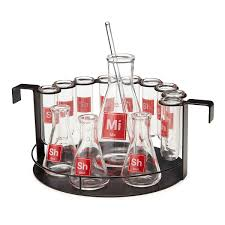 cocktail set lab cocktail set barware geek gifts cocktail glasses