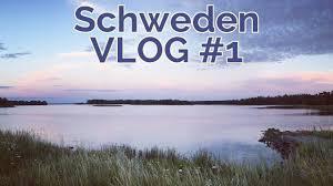 schweden roadtrip tour vlog 1 autocamping in südschweden youtube