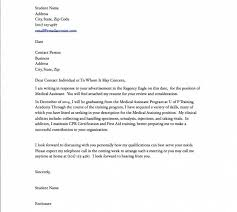 best cover letter examples for medical assistants 48 on free cover