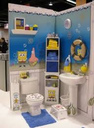 bathroom theme spongebob bathroom decor blue home interiors