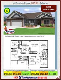 manchester ii all american homes ranch ranch collection modular