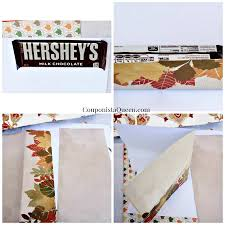 Hershey Thanksgiving Craft Thanksgiving Turkey Candy Bar Wrap Favors For Your Table