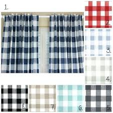 blue plaid curtains u2013 teawing co