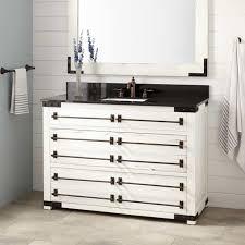 Reclaimed Wood Vanity Bathroom 48