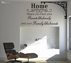 Nursery Sayings Wall Decals Home Family Friends Spiritual Wall Quote Decal Decor Sticker