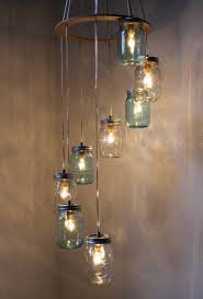Hanging Chandelier Light Fixture Mason Jars Brilliant The Feng Shui Of Things Pinterest