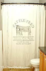 Feed Sack Curtains Burlap Feed Sack Curtains Feed Sack Curtains Feed Sack Shower