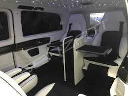 luxury minivan interior jet spec model 6 seats senzati