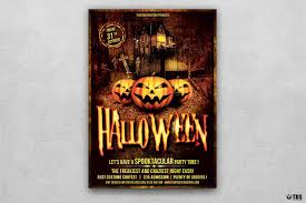 halloween flyer background halloween flyer template psd design for photoshop