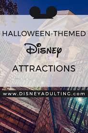 themes in magic kingdom full list of disney halloween theme rides attractions 2017