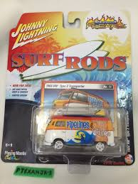 volkswagen type 6 johnny lightning 1964 vw volkswagen type 2 transporter surf rods