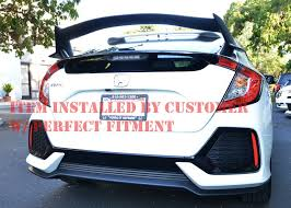 honda hatchback type r has anyone bought this type r spoiler for the hatchback 2016