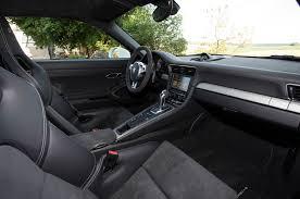 porsche 911 interior 2014 porsche 911 gt3 first drive motor trend