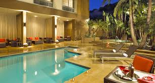 Home Plans With A Courtyard And Swimming Pool In The Center Mission Valley Hotels Courtyard San Diego Mission Valley Hotel