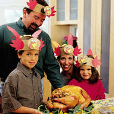turkey hats family crafts