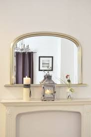 Large Arched Wall Mirror Large Silver Over Mantle Big Overmantle Big Wall Mirror 4ft X 2ft7