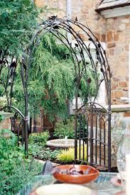 17 best wrought iron arch images on pinterest garden arbor