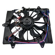 chrysler pt cruiser radiator fan brock supply 06 10 chrysler pt cruiser radiator fan assembly w turbo