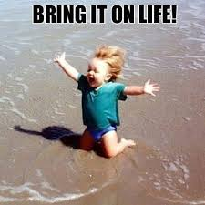 Happy Life Meme - bring it on life life bringit meme quotes happy lif flickr
