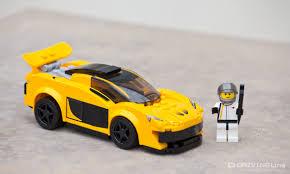 lego lamborghini gallardo redefining creativity lego speed champions drivingline