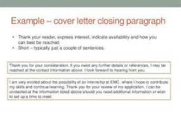 brilliant ideas of closing sentence for cover letters for download