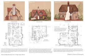 100 storybook homes floor plans 500 cottages douglas