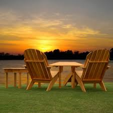Adirondack Outdoor Furniture Adirondack Chairs Combo Dfohome