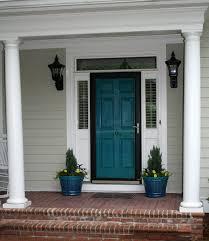 teal door u0026 sherwin williams 6943 intense teal and 7657 tinsmith