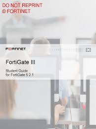 fortigate iii student guide online file transfer protocol java
