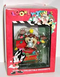 looney tunes collectible ornament taz in christmas decorations