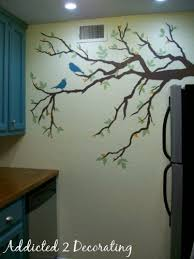 kitchen wall mural ideas my kitchen wall mural finished
