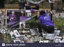george michael home london uk 23rd dec 2017 tonia from the charity freedom for